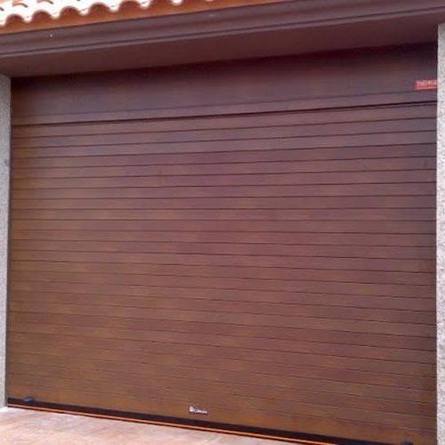 Γκαραζόπορτα Ρολό Αλουμινίου διπλού τοιχώματος