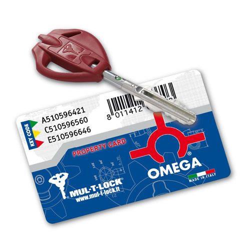 Κλειδαριά Ασφαλείας OMEGA PLUS MUL-T-LOCK