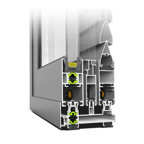 Κούφωμα Αλουμινίου Συρόμενο E36 ECS